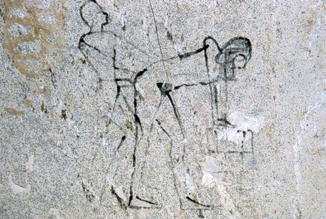 As mentioned above, Hatshepsut and Senenmut going at it