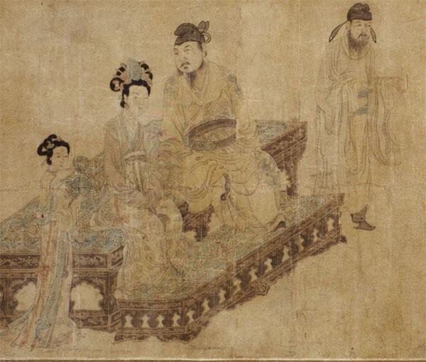 Emperor Xuanzong with Yang Guifei