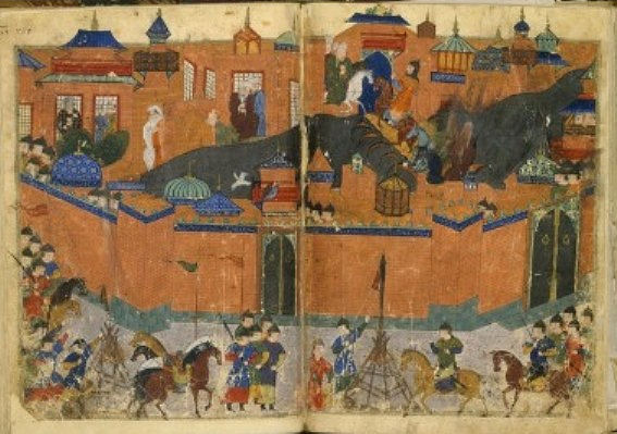 The terrors of 13th century Mongol conquests.