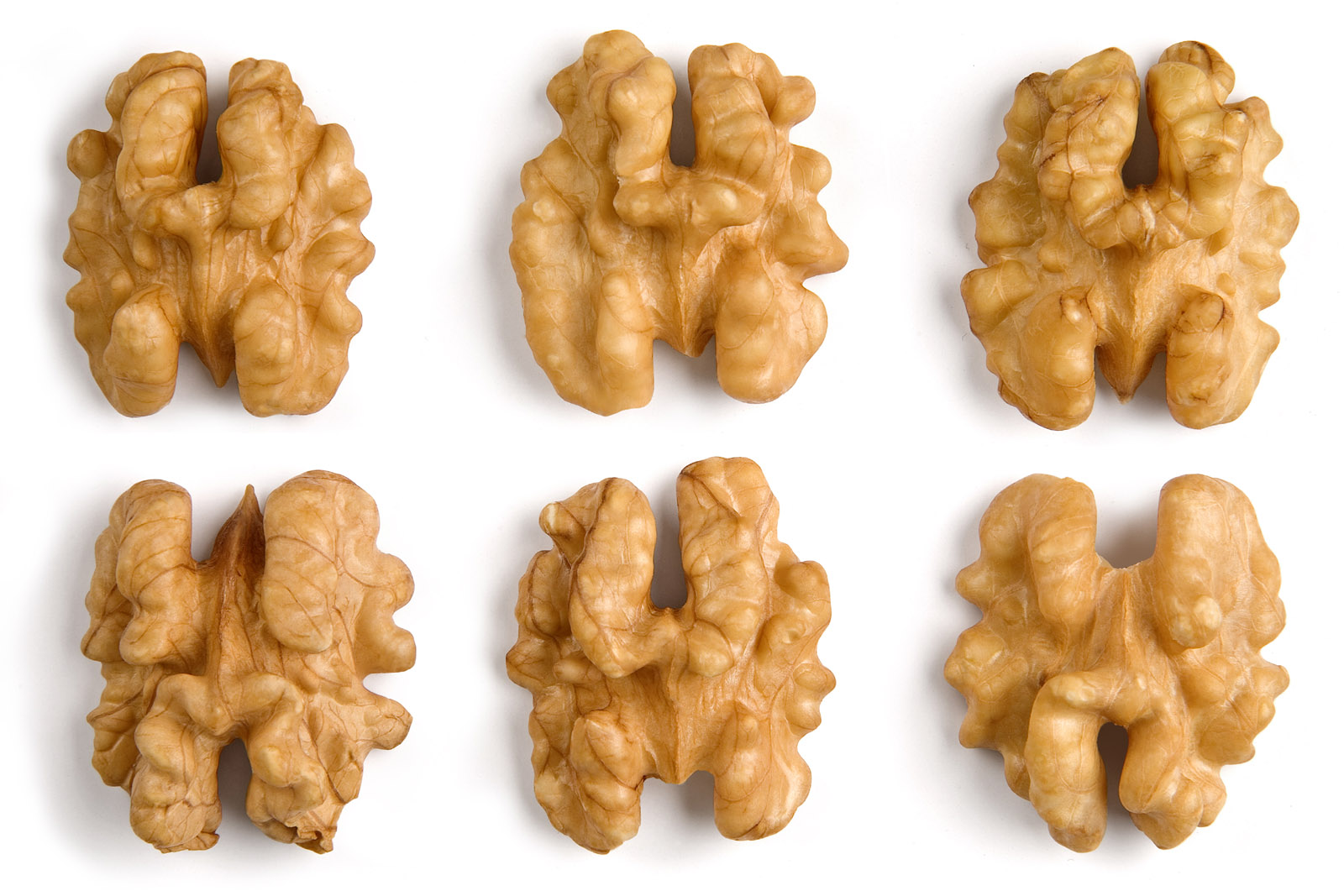 Actually, walnuts are full of omega-3 fatty acids, that's why they're good for brain health, but points for effort, folks.