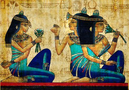 Egyptian women and vanity
