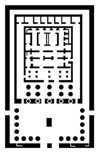 Basic Layout of the temple