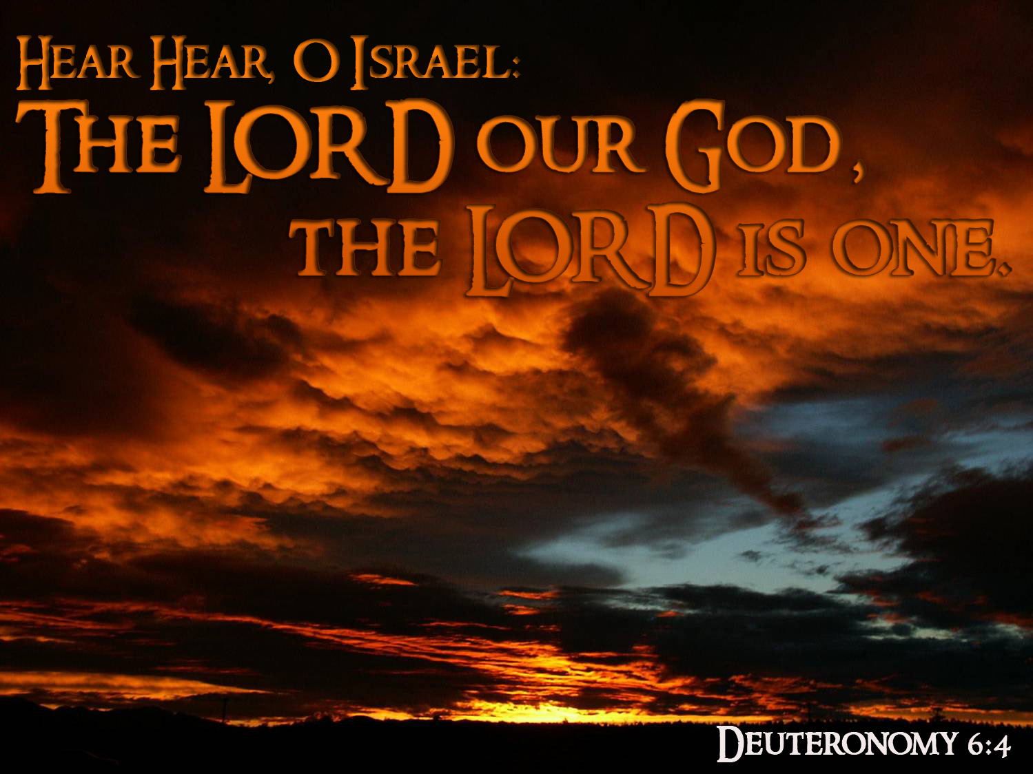 Reminders on God's covenant with Israel from Deuteronomy