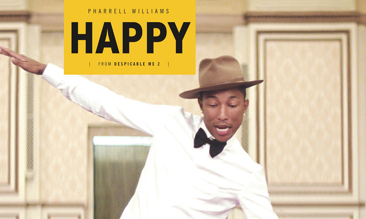 A Happy Pharell Geddit? Geddit? (I need a life)