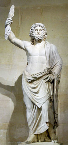 Zeus - God of Sky, Lightning, Thunder, Law, Order & Justice. (Wikipedia)