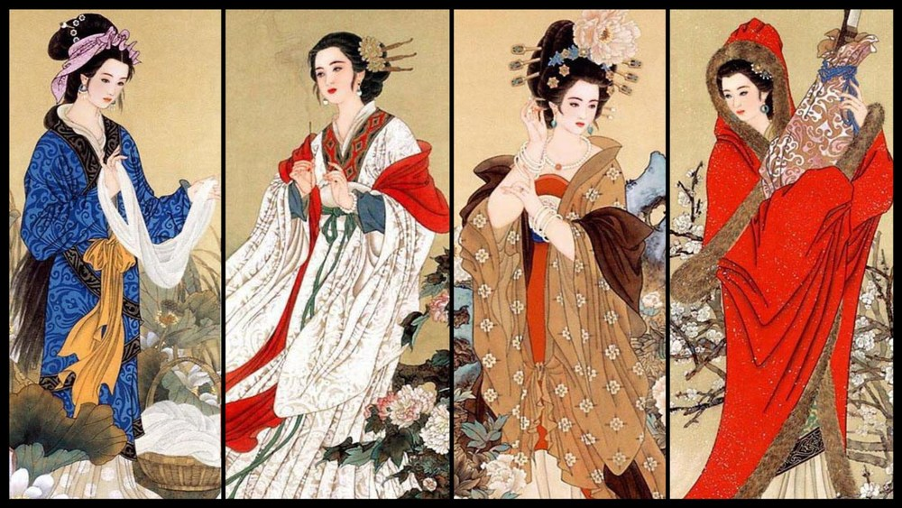 The Four Greatest Beauties of Ancient China