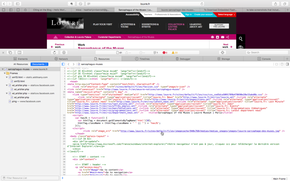 Safari File URL