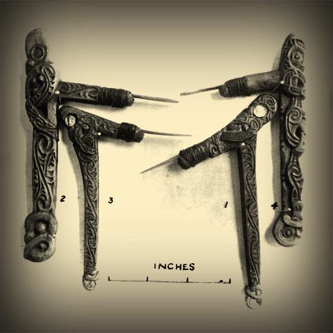 Māori Tattoo Chisels By Lars Krutak