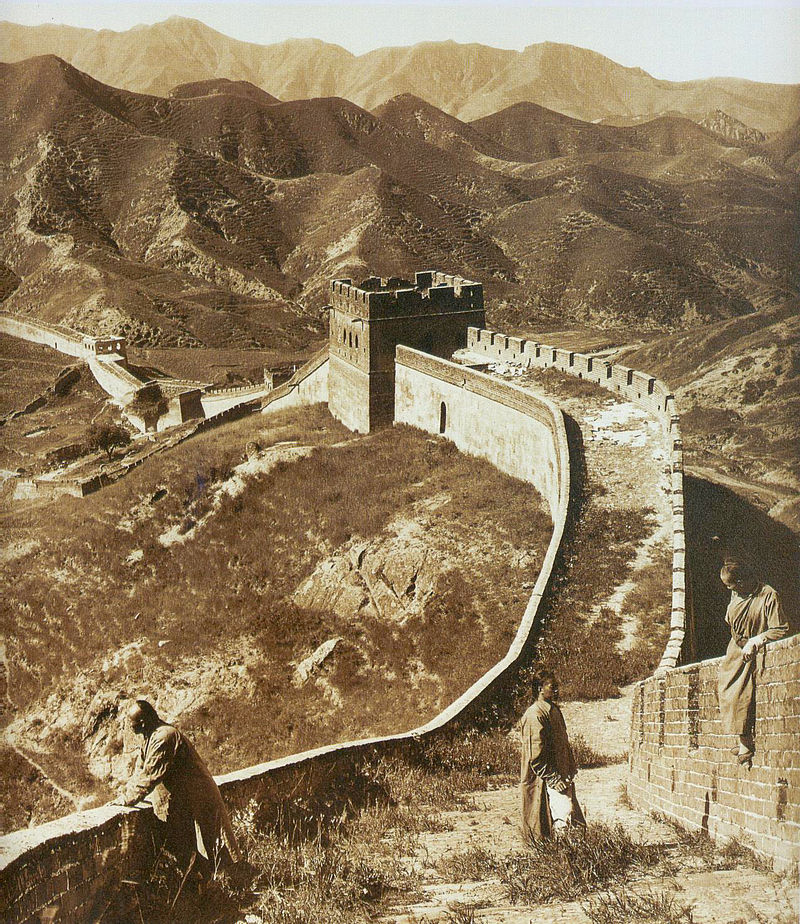 """The Great Wall in 1907"" @ Herbert Pontin, 1907, CC-PD-Mark"