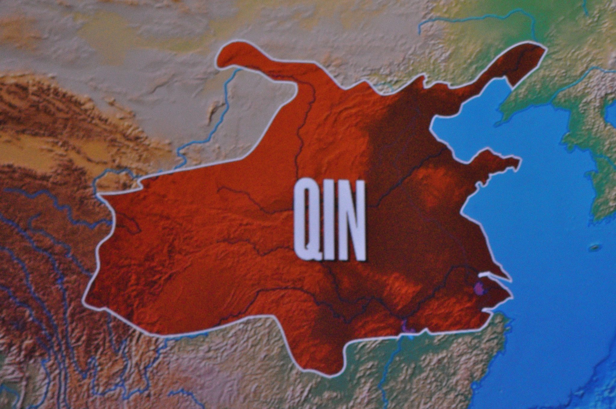 """Qin region"", at the Terracotta Soldiers Exhibit Asian Arts Museum @ Julie Pimentel, 2013, CC BY-NC 2.0"