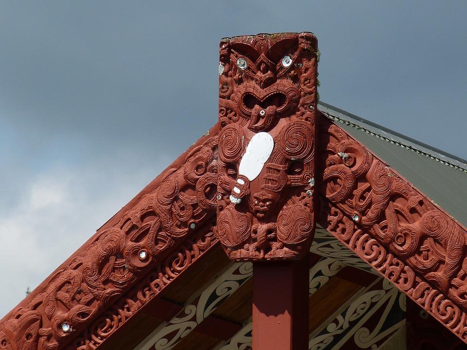 Maori, Native American, Art, Wood, New Zealand By Falco [CC0 Public Domain]