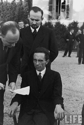 """A candid Joseph Goebbels at the moment he realized his photographer, Alfred Eisenstaedt, was a Jew, 1933"" @ Gafa Kassim, 2014, CC BY-NC-ND 2.0"