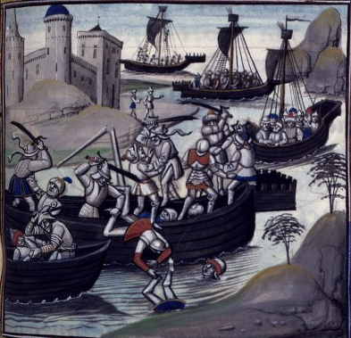 Bataille d'Alexandrie, the Battle of Alexandria @ Guillaume de Tyr, 1173, CC-PD-Mark
