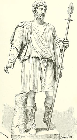 Sketch of a tunic by C. F. Jewett