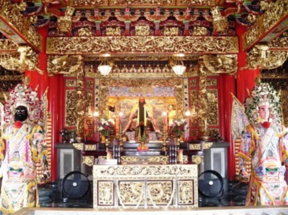 Guan Gong temple in Yokohama Chinatown