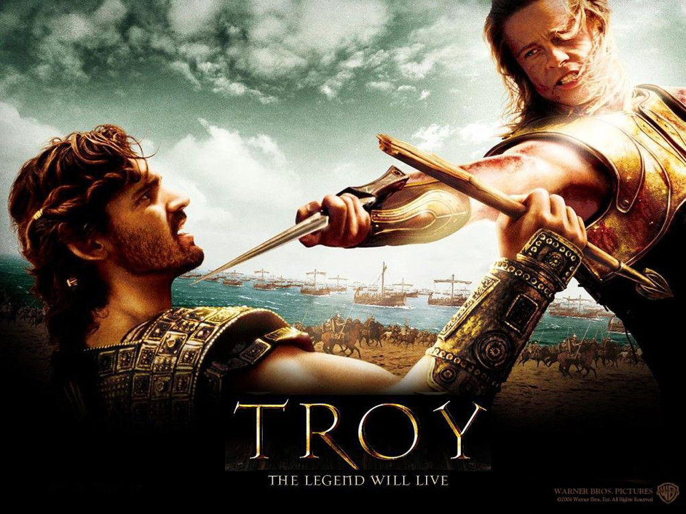Troy (2004) Movie Poster