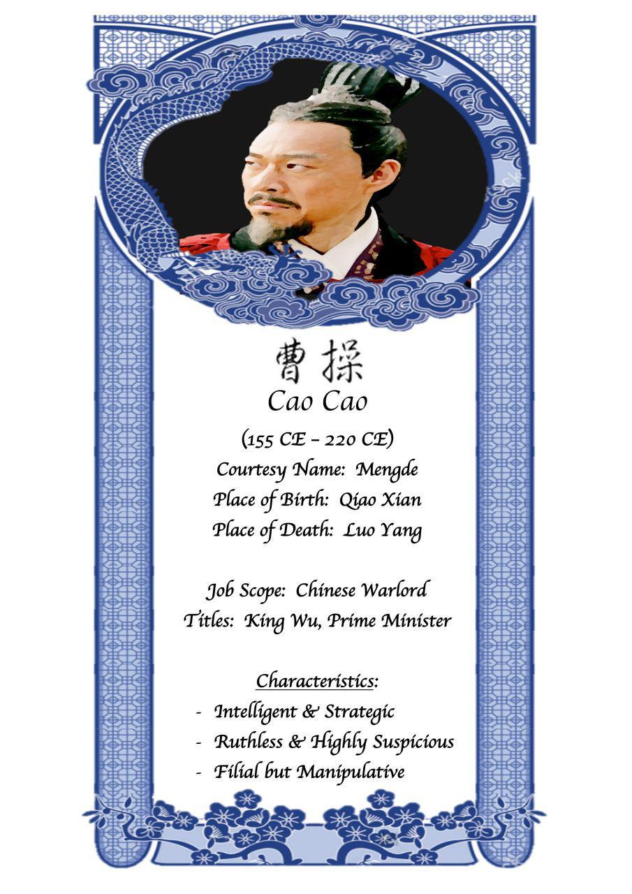 Profile of Cao Cao (King Wu)                    (Self-Made)