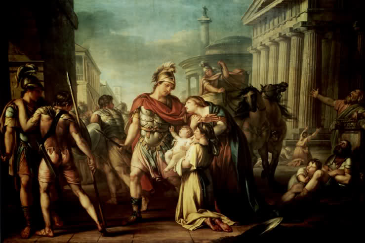 Hector's Farewell to Andromache (1780)