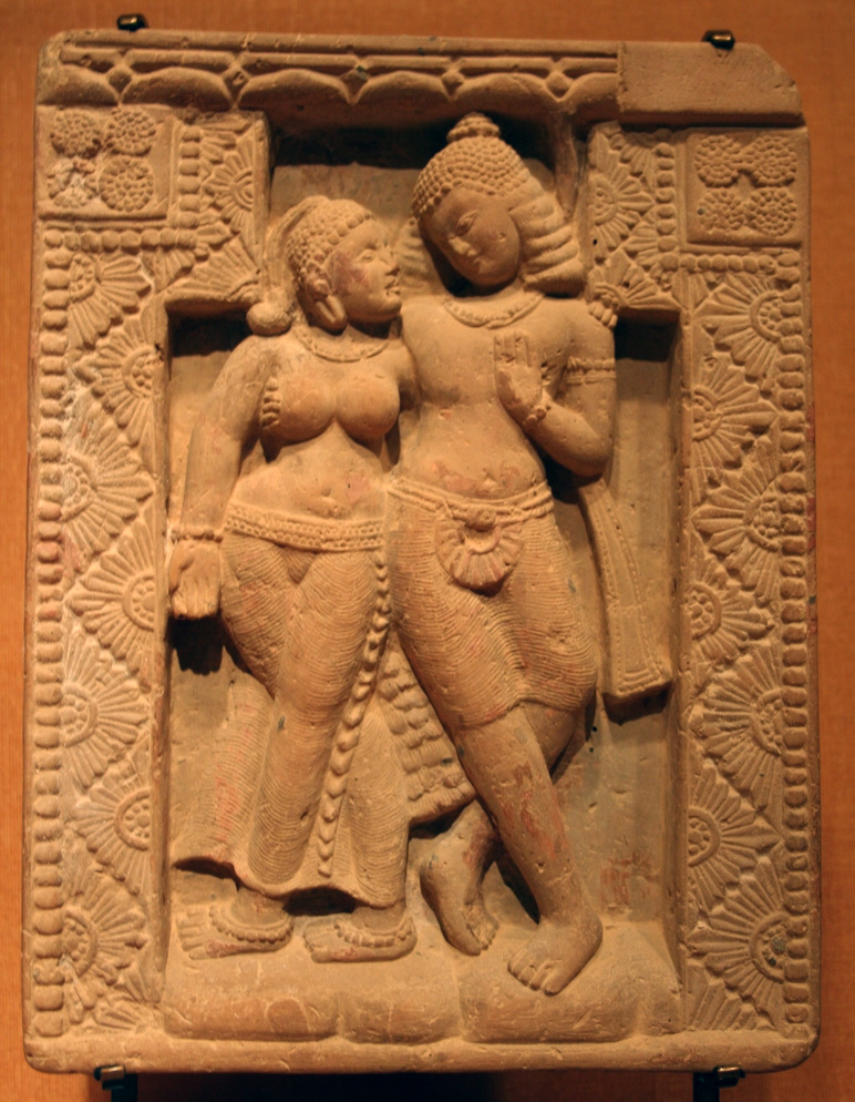 "Mithuna. India, Gupta Period, 5th century A.D. By Wikipedia Loves Art participant ""Department_of_Trife"". [CC BY-SA 2.5], via Wikimedia Commons."