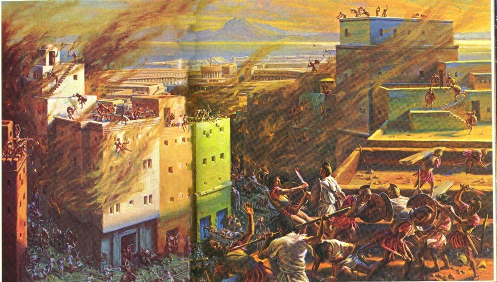 The fall of Carthage.  Retrieved from http://hannibalofcarthage.net/destruction-of-carthage.php