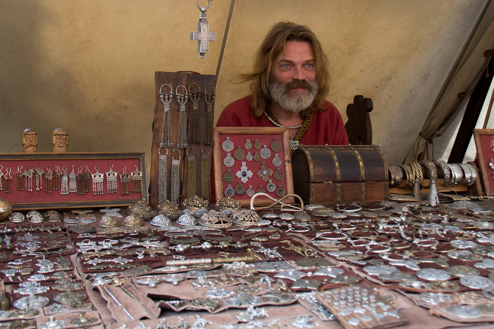 Viking trader. By Hans Splinter, via Flickr commons. CC BY-ND 2.0