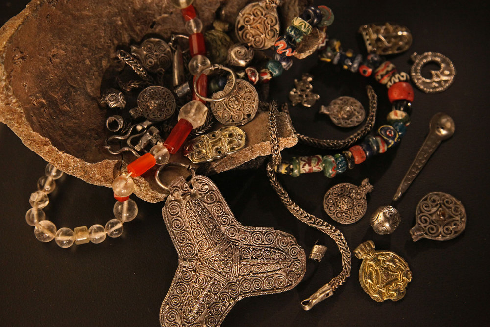 Vikings - A treasure of women's history.   By JC Merriman, via  Flickr commons .  CC BY 2.0