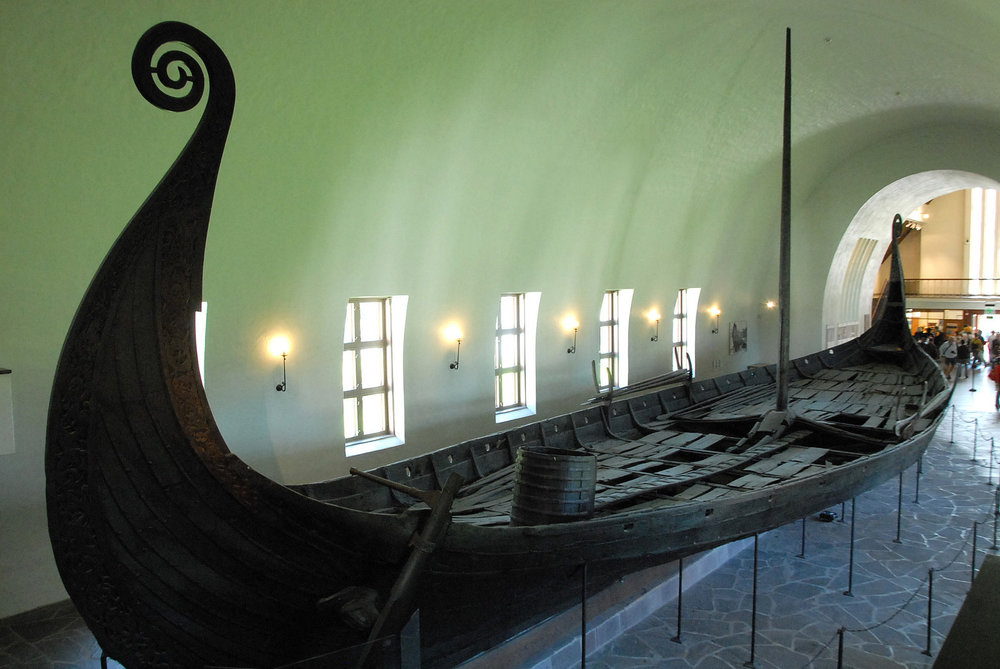 Viking ships Museum, Oslo. By Marie Guillaumet via   Flickr Commons  .  CC BY-NC-ND 2.0