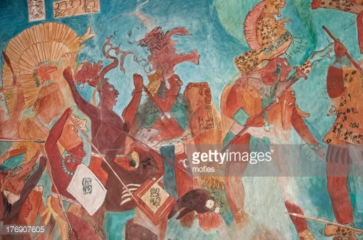 Mayan Mural Painting -Photo by mofles/iStock / Getty Images