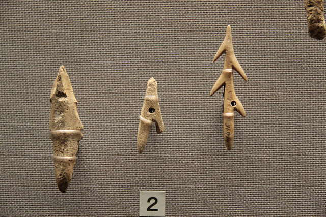 Jomon harpoon heads