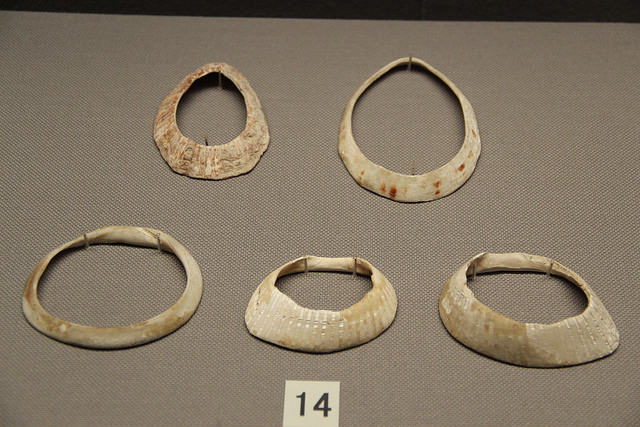 Jomon clay bracelets