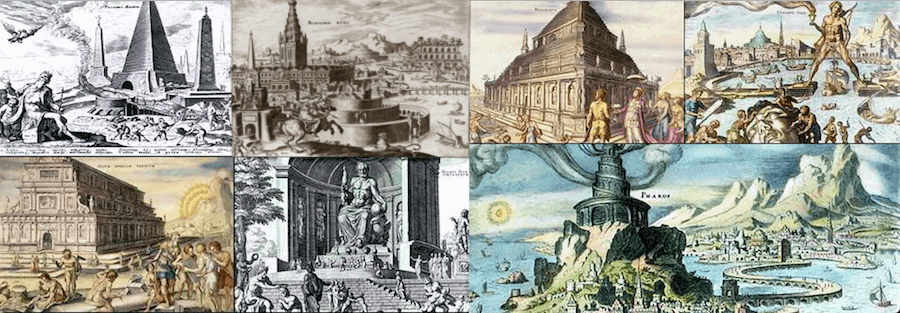 Seven Wonders of the Ancient World -    Maarten Heemskerck (1572)