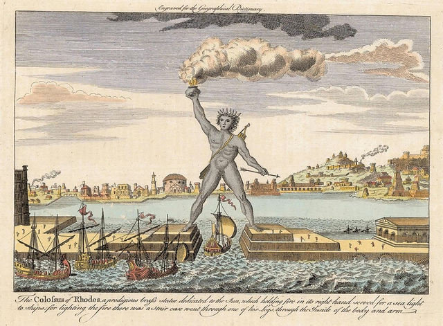 The Colossus of Rhodes via  Flickr