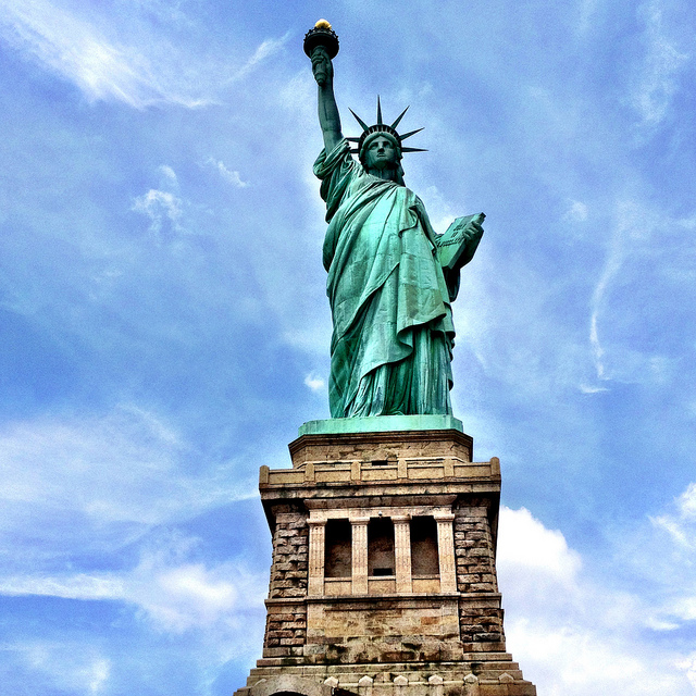 Statue of Liberty via  Flickr