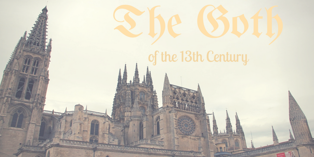 Exterior of Burgos Cathedral. Author: Maria Ng [CC BY-NC-ND 4.0]. Edited with Canva.