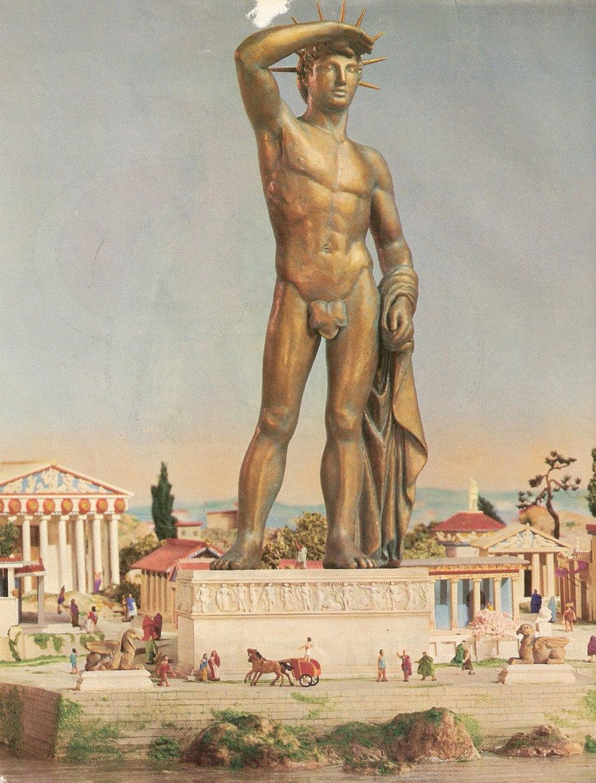 The Colossus of Rhodes. By Patrimonios Del Mundo via Wikimedia Commons. Creative Commons.