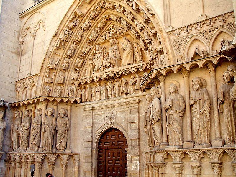 Puerta de la Coroneríade la Catedral de Burgos