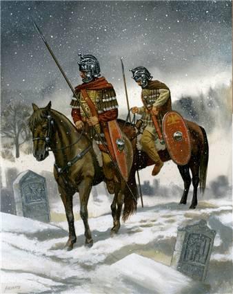 Roman Cavalry - Retrieved From http://www.romeacrosseurope.com/?p=3073