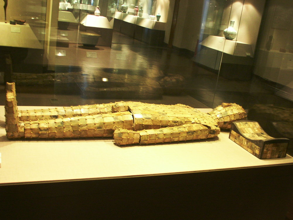 https://commons.wikimedia.org/wiki/Category:Jade_burial_suit_of_Liu_Xiu#/media/File:JadeBurialSuit.JPG