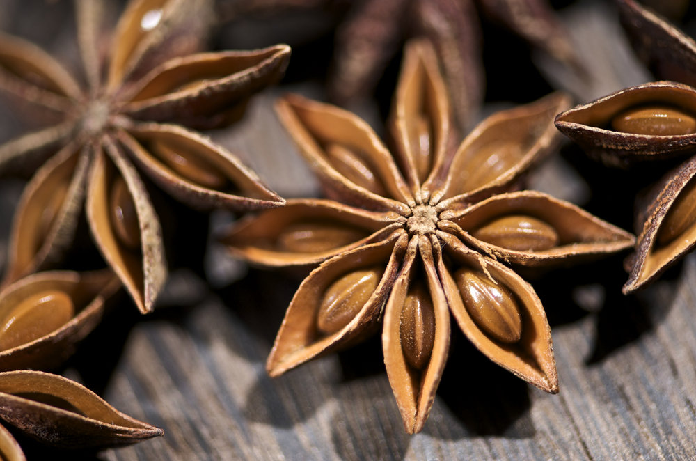 Star Anise Series. By THOR [ CC BY 2.0 ], via  Wikimedia Commons