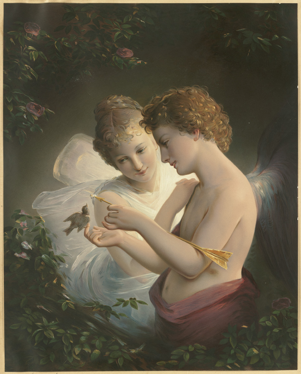Cupid and Psyche via  Wikimedia Commons