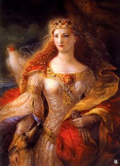 Young Duchess of Aquitaine