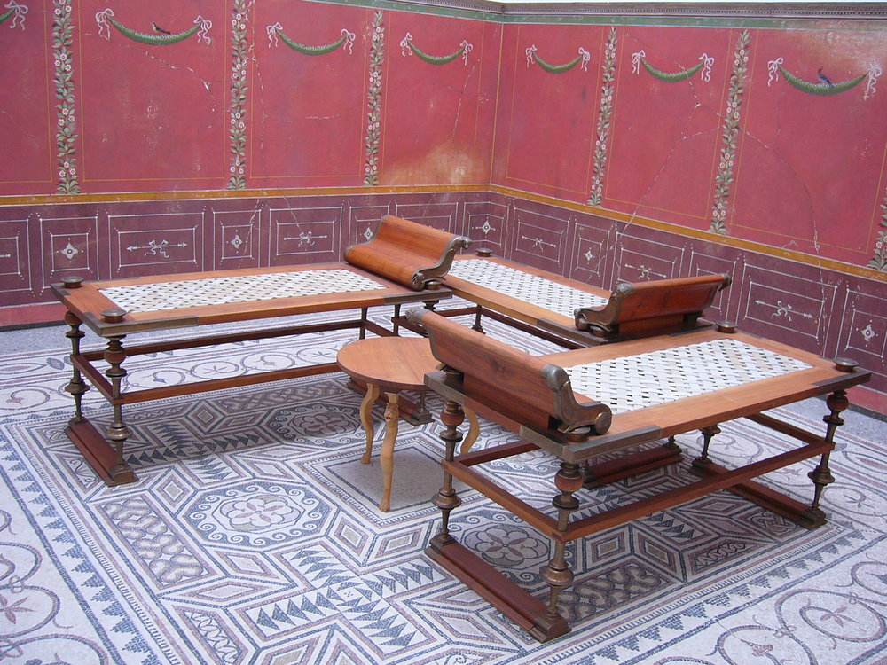 Ancient Roman Seating Arrangement. By User:Mattes (Own work) [Public domain], via  Wikimedia Commons