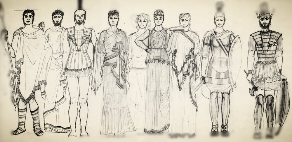 an analysis of fashion trends during the ancient greek and roman periods In today's haute couture we often see a bit of ancient greek fashion of the ancient roman it is depicted in ancient and ancient greek clothing.