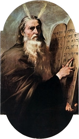 Deutsch: Hl. Moses. By José de Ribera (YorckProject) [ GFDL ], via Wikimedia Commons.