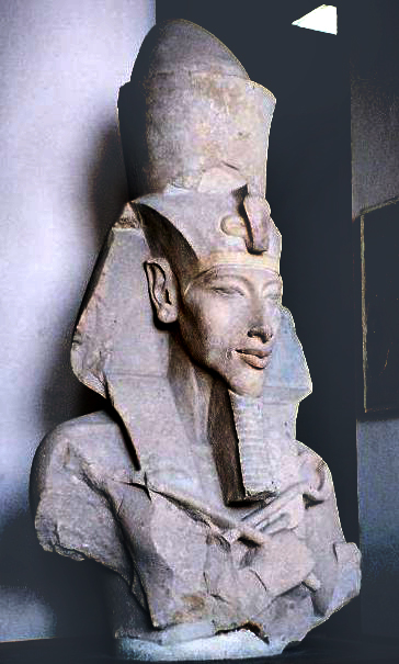 Akhenaten, by Wikimedia Commons.
