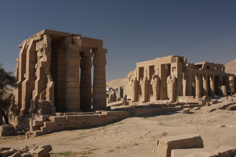 The Ramesseum by Ian Gampon