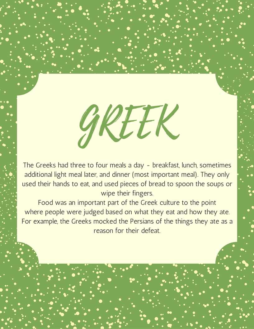 An Introduction of Greek Cuisine