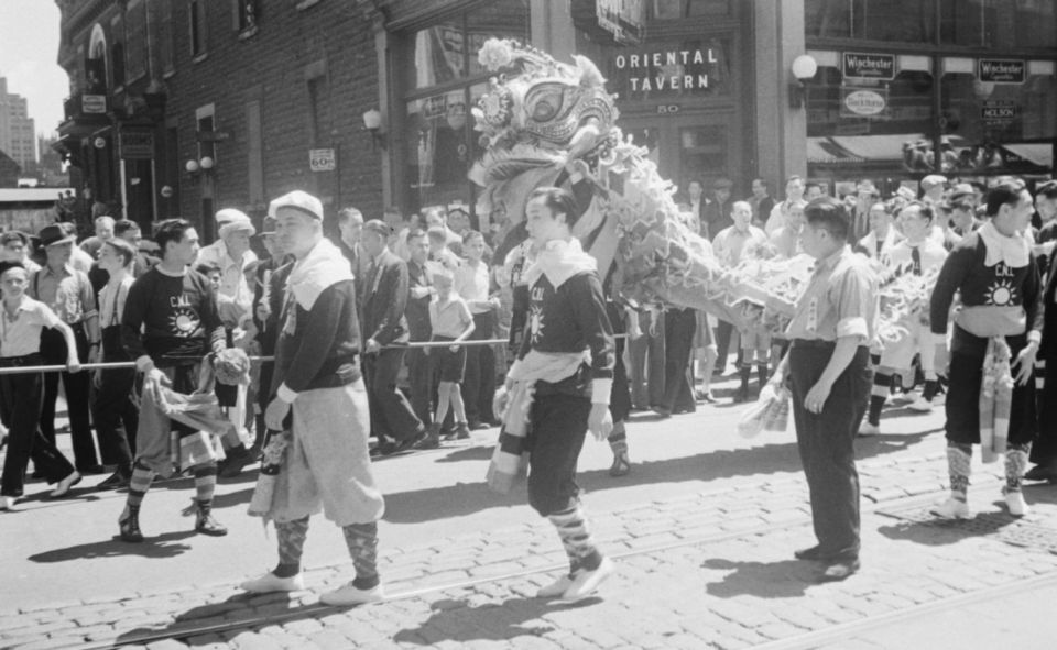 News. Chinese Dragon Dance. By Conrad Poirier. [Public Domain]. Via Wikimedia Commons.