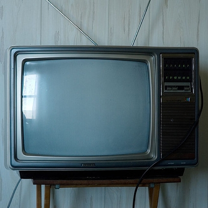 Television , by Daily Intervention (CC BY 2.0)