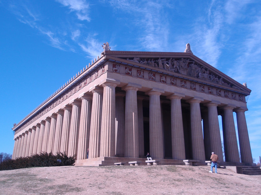 Author: Joel Kramer  Date: February 27, 2010  Title: The Parthenon  License:  Flickr